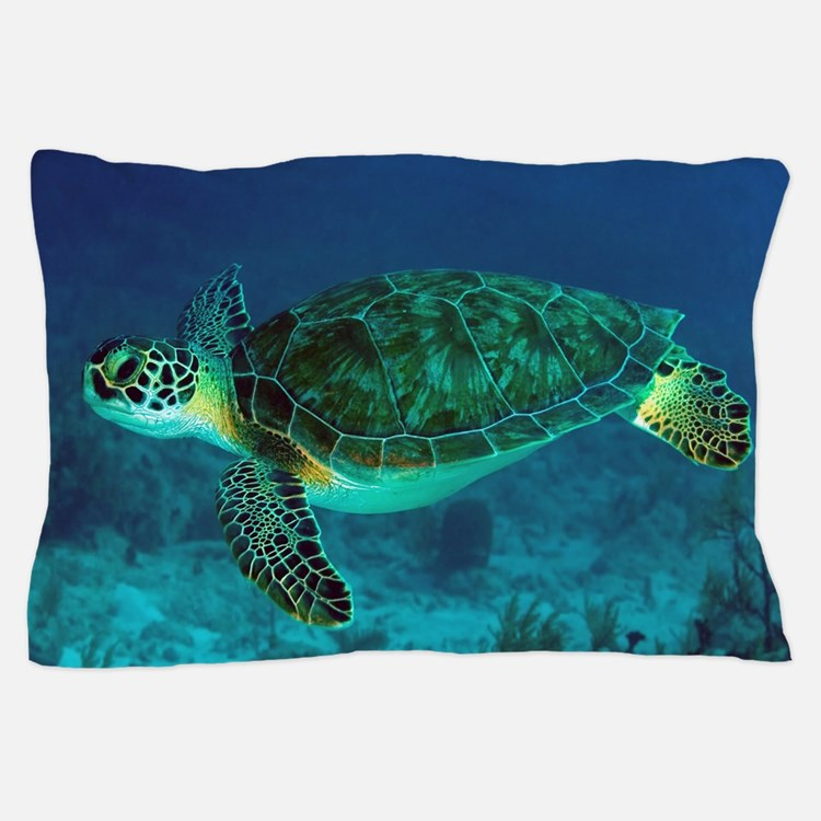 Ocean Turtle Pillow Case