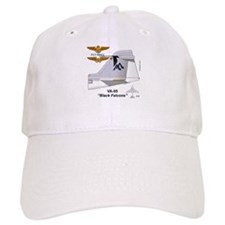 A-6 Intruder Va-85 Black Falcons Baseball Cap