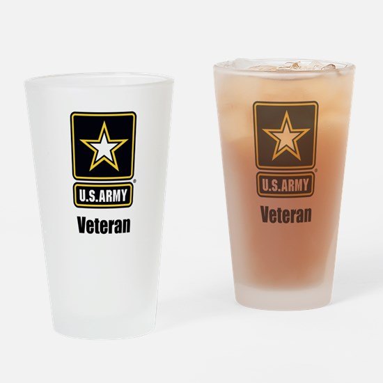 U.S. Army Veteran Drinking Glass
