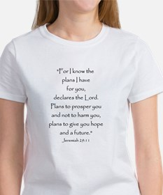 Jeremiah 29:11 Women's T-Shirt