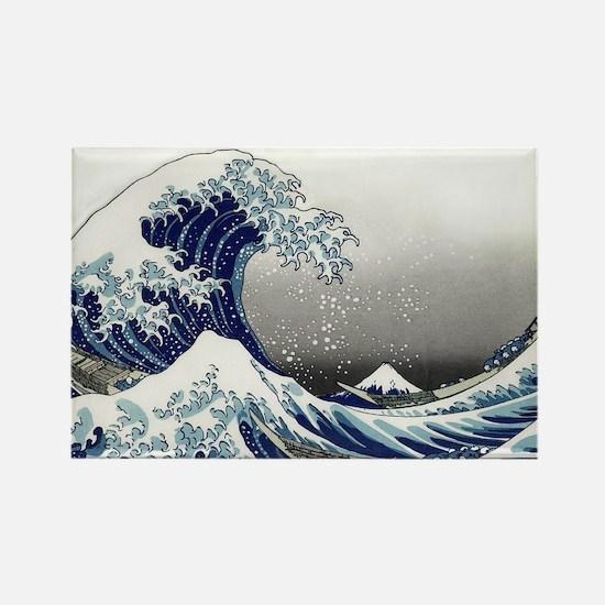 great wave of Kanagawa hokusai Magnets