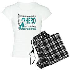 Ovarian Cancer Heaven Neede pajamas