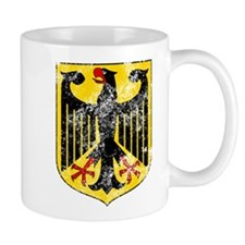 Coat of Arms of Germany Washed Mugs