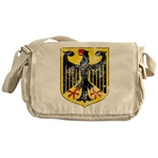 Coat of Arms of Germany Washed Messenger Bag