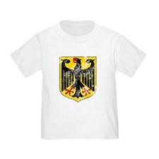 Coat of Arms of Germany Washed T-Shirt