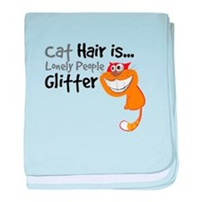 Cat Hair Is Lonely People GLITTER Ornage-01-01 bab
