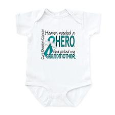 Ovarian Cancer Heaven Needed Hero Infant Bodysuit