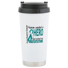 Ovarian Cancer Heaven N Travel Mug