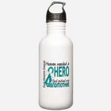 Ovarian Cancer Heaven Sports Water Bottle