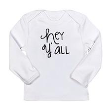 Hey Yall-01 Long Sleeve T-Shirt