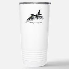 F-16C 18th AGRS Stainless Steel Travel Mug