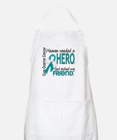 Ovarian Cancer Heaven Needed Hero 1.1 Apron