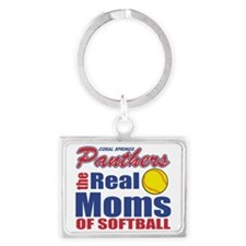 Real Moms of Coral Springs Landscape Keychain