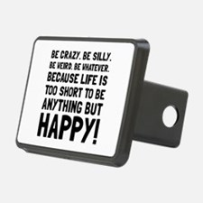 Be Happy Hitch Cover