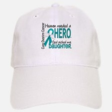 Ovarian Cancer Heaven Needed Hero 1.1 Baseball Baseball Cap