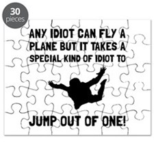 Idiot Skydiving Puzzle