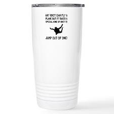 Idiot Skydiving Travel Mug