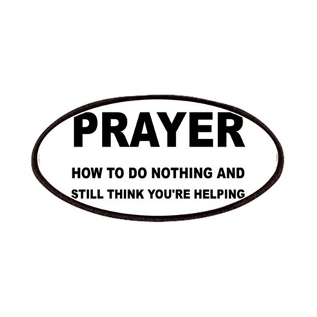 Prayer: Doing Nothing Yet Helping Patches