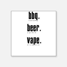 bbq beer vape. what else is there? Sticker