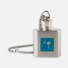 XX Teal Flask Necklace