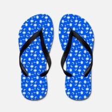 Palmetto Moon State Flag Flip Flops