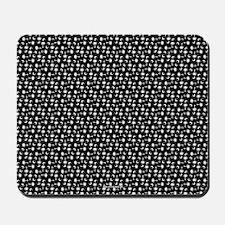 SC Palmetto Moon Flag Black Mousepad