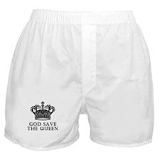 God Save The Queen Boxer Shorts