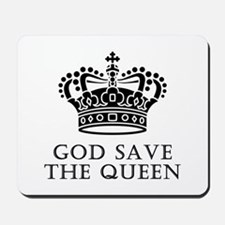 God Save The Queen Mousepad