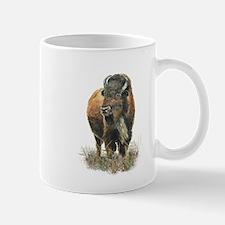 Watercolor Buffalo Bison Animal Art Mugs