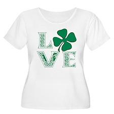 Irish Celtic Love Plus Size T-Shirt