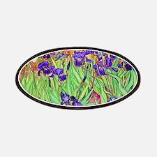 van gogh purple iris Patches