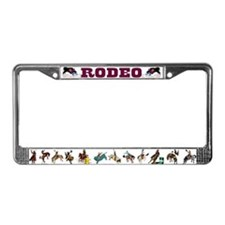 Funny Rodeo License Plate Frame