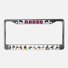 Unique Wrestlers License Plate Frame