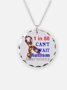 Autism Awareness Jewelry Necklace