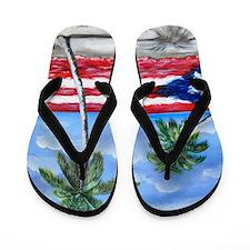 Palmas de Puerto Rico Flip Flops