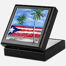 Palmas de Puerto Rico Keepsake Box