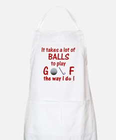 Play Golf the Way I Do BBQ Apron