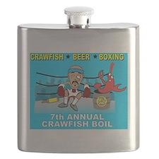 Crawfish Boil 2014 Flask