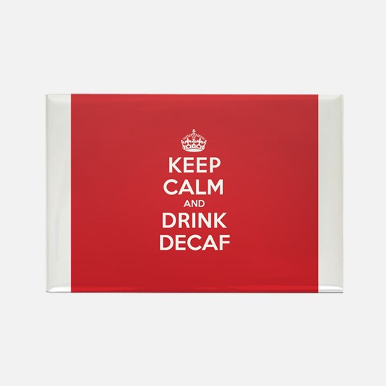 K C Drink Decaf Magnets