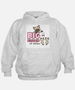 Big Sister of Twins (Kitty) Hoody