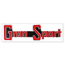 Gran Sport Logo Bumper Bumper Sticker