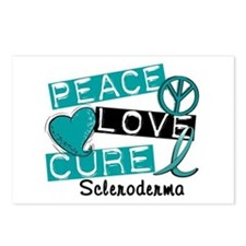 Scleroderma Peace Love Cu Postcards (Package of 8)