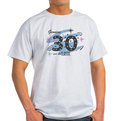 Classic 30 Confetti Light T-Shirt
