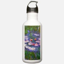 Claude Monet, pink and Water Bottle