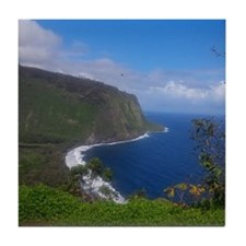 Waipi'o Valley 2014 Tile Coaster