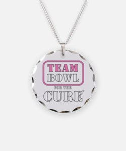 TEAM Bowl for the Cure Necklace