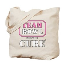 TEAM Bowl for the Cure Tote Bag