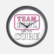 TEAM Bowl for the Cure Wall Clock