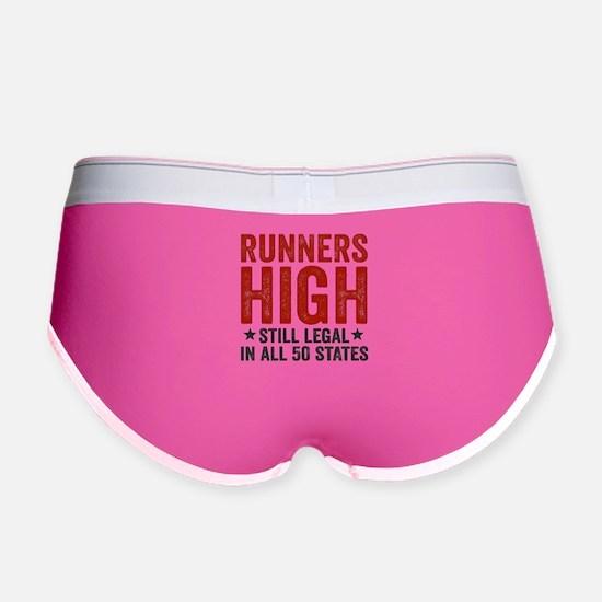 Runner's High. Still Legal. Women's Boy Brief