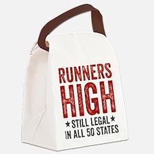 Runner's High. Still Legal. Canvas Lunch Bag